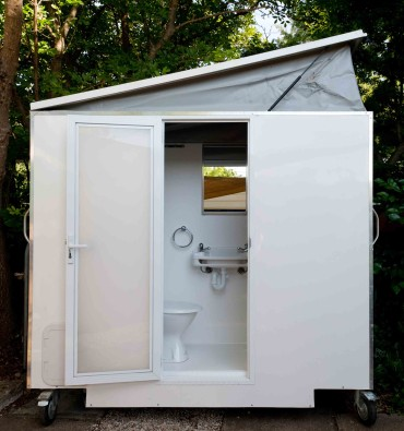 Ensuite Bathroom Hire portable ensuite hire canberra - full size shower, toilet, wash